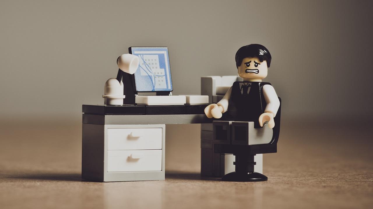 Lego fear desk