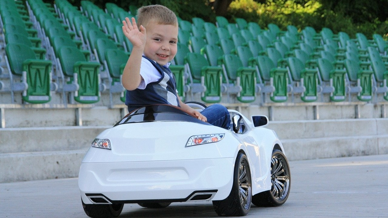 kid child car driving